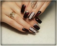 30 Excellent Image of Outstanding Classy Winter Nails Art Design Ideas, Outstanding Classy Winter Nails Art Design Ideas 75 Outstanding Classy Winter Nails Art Design Ideas Nails, , Gel Nail Art Designs, Nail Art Designs Videos, Classy Nail Designs, Pretty Nail Designs, Trendy Nail Art, Cool Nail Art, Winter Nail Art, Winter Nails, Christmas Nail Designs