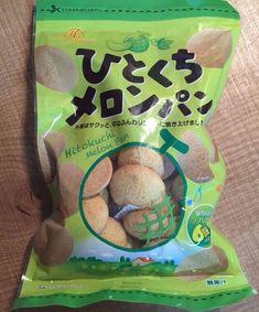 Hitokuchi Melon Pan Cookie, 130g, Japanese Candy #Kakihara
