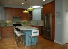 Kitchen:A Colorful Light Filled Kitchen Remodel Light Filled Kitchen Extension Design Ideas Light-Filled Modern Kitchens by Mal Corboy and O...