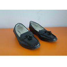 Softlites Black Faux Leather Womens Shoes, check out our depop shop