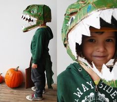 coolest homemade dino costume EVER!