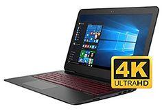 Newest HP OMEN 17 17.3'' UHD Gaming and Business Laptop (Intel i7 Processor, 4TB SSD, 17.3 inch UHD 3840 x 2160 4K Display, 32GB RAM, GeForce GTX 1050, Win 10 Home)