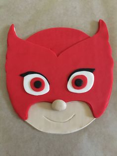 Decorate your own anytime cake with handcrafted, fondant PJ Masks Inspired Owlette cake topper. Owlette is a flat / 2D accent and cannot be made to stand vertically. She is designed to be placed flat on top of a cake and can be used on fondant or buttercream icing. Topper measures approx. 5 inch x 4.75 inch  I recommend using this topper on a 6 inch or larger cake.  This will ship to arrive early in the week of your event.  Any questions please feel free to contact me.  *****************...