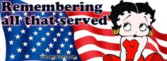 Betty Boop Facebook Timeline Covers : Betty Boop Veterans Day Facebook Timeline Covers and Banners