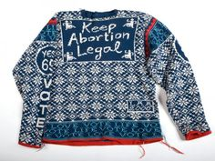 Lisa Anne Auerbach's Awesome, Arty Feminist Sweaters