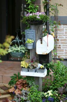 庭 : 小さな手作りガーデン もっと見る