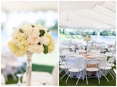 light blush pink and white reception details tall centerpieces