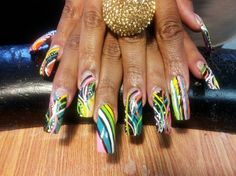 WHAT ABOUT THIS! by phathipz - Nail Art Gallery nailartgallery.nailsmag.com by Nails Magazine www.nailsmag.com #nailart