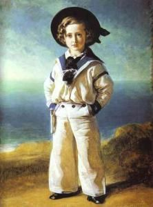 Prince Albert Edward (the future Edward VII of the United Kingdom) in a sailor suit, by Franz Xaver Winterhalter, 1846