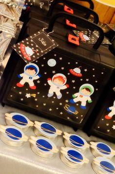 Encontrando Ideias: Festa Astronautas!!!