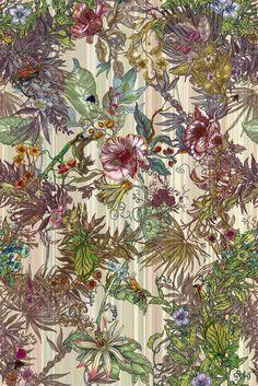 Les Timorous Beasties, as écossais du papier peint sous acides | Wallpaper