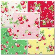 I'm SEW IN LOVE with this fabric!!!  New Japanese ATSUKO MATSUYAMA 30's Collection by sewdeerlyloved, $20.00