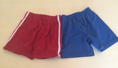 Place Wonder Kids Baby Boys 18 Month Shorts 2 Pairs Summer Clothes Knit Red Blue | eBay