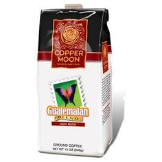 Copper Moon Guatemalan Coffee, Light Roast, Ground, « Lolly Mahoney