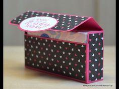 JanB Handmade Cards Atelier: Handbag Tissues Box Video
