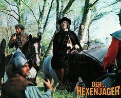 'Il grande inquisitore' (1968); regia: Michael Reeves. Titolo originale: 'Edgar Allan Poe's Conqueror Worm'; titolo tedesco: 'Der Hexenjäger'