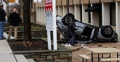 It's Raining SUVs In Maryland: Audi Q5 Plunges 4 Stories From Parking Garage [w/Video] #Accidents #Audi