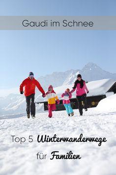Fünf Wandertipps, die Kinder und kindgebliebene Schneefans begeistern! #kleinwalsertal #visitvorarlberg Gaudi, Outdoor Activities, Cool Kids, Skiing, Winter, Adventure, Landscape, Walking, Travel