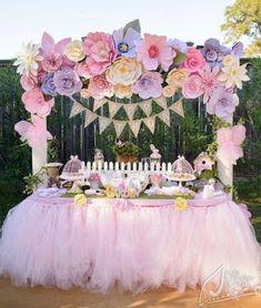 Cómo decorar mesas para eventos con tul paso a paso ~ lodijoella