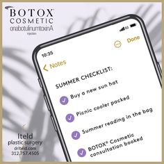 Contact us at 312.757.4505 to book a BOTOX® Cosmetic consultation. #BotoxCosmetic #BotoxCosmeticProvider #plasticsurgery #boardcertified #plasticsurgeon #chicagoplasticsurgery Facial Procedure, Summer Checklist, Botox Cosmetic, Plastic Surgery Procedures, Muscle Contraction, Botox Injections, Dermal Fillers, Primary Care, Younger Looking Skin