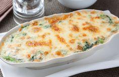 Creamy Chicken and Spinach Bake Recipe via @SparkPeople
