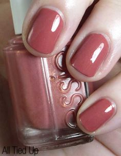 Essie All Tied Up--great color for fall