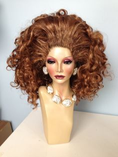Tutorial - How To Build HUGE Drag Hair And Rooted Wig Line - Part 1