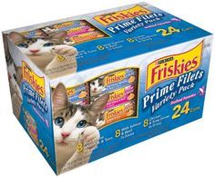 Friskies Wet Cat Food, Prime Filets, Seafood Favorites 3-Flavor Variety Pack,  5.5-Ounce Can, Pack of 24 - http://weloveourpugs.net/?product=friskies-wet-cat-food-prime-filets-seafood-favorites-3-flavor-variety-pack-5-5-ounce-can-pack-of-24