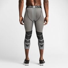 Nike Pro Hypercool Compression Three-Quarter Men's Tights