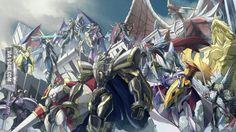 The Badass Royal Knights of Digimon. - 9GAG