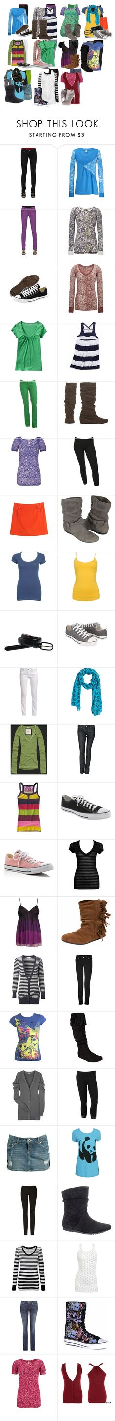 """""""The Vampire Diaries: Malia Gilbert"""" by grandmasfood ❤ liked on Polyvore featuring Forever 21, BKE, Converse, Old Navy, Victoria's Secret, Wet Seal, J.Crew, Acne Studios, Abercrombie & Fitch and Divine Rights of Denim"""