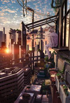 #anime #scenery                                                                                                                                                      More