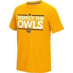adidas Men's Kennesaw State Owls Gold Ultimate Short Sleeve T-Shirt, Size: Medium, Multi