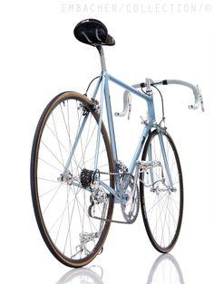 Paire p/édales r/étro vintage aluminium ville fixie M-14 bicyclette