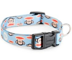 Classic Blue Julius Dog Collar by Paul Frank