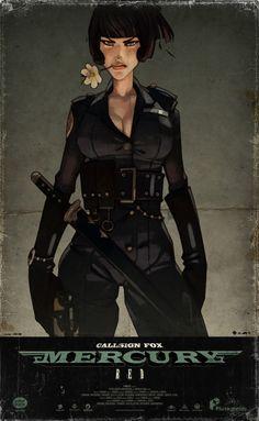 Mercuryred Police Fox by couscousteam on deviantART