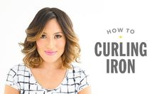 How to curl hair with a curling iron by Drybar Founder Alli Webb Blowout Curls, Natural To Relaxed Hair, Curled Hairstyles For Medium Hair, Rotating Curling Iron, Frizz Control, How To Curl Your Hair, Perfect Curls, Beauty Hacks, Beauty Tips
