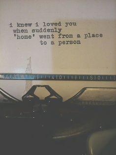 I knw I loved you