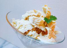 coconut-icecream Banana Cream, Ice Cream, Cream Pies, Sweet Tooth, Thailand, Lime, Coconut, Eat, Glass