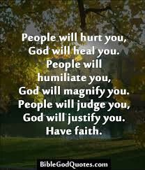 People vs. God