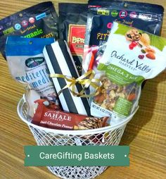 Heart Healthy Gift Basket - #caregifting