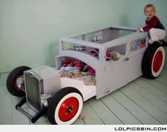 Awesome car bed