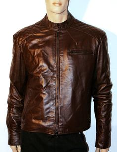 ALTIERI Confezioni Handmade Men Leather Jacket di BeHappieWorld