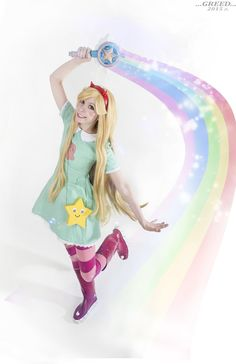 Star Butterfly cosplay Star vs the forces of evil by Tenori-Tiger With AX having just ended, I'm surprised I haven't seen more Star cosplay! Anyone have a lead on some?