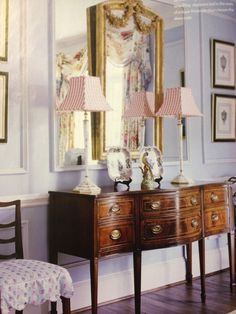 dining room sideboard and adorable buffet lamps