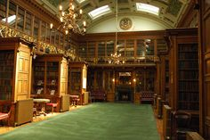 Beautiful room. New Library of the Royal College of Physicians of Edinburgh.
