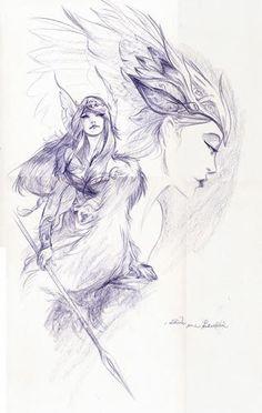 Viking berserker t shirt - Valhalla Norse Tattoo, Viking Tattoos, Viking Power, Tattoo Drawings, Art Drawings, Vikings, Elfa, Legends And Myths, Tattoo Motive