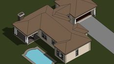 A four bedroom house plans drawing with garages for sale. Browse one storey 4 bedrooms house plans designs and Tuscan house plan designs in South Africa. Four Bedroom House Plans, Tuscan House Plans, 4 Bedroom House Designs, Garage House Plans, Bungalow House Plans, Home Design Plans, Plan Design, Double Storey House Plans, Built In Braai