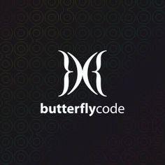 })({ butterfly code logo