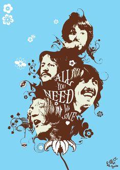 60's Beatles by ~82percentevil
